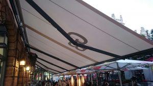 Parasoles para Bares en Córdoba - Toldos Saez