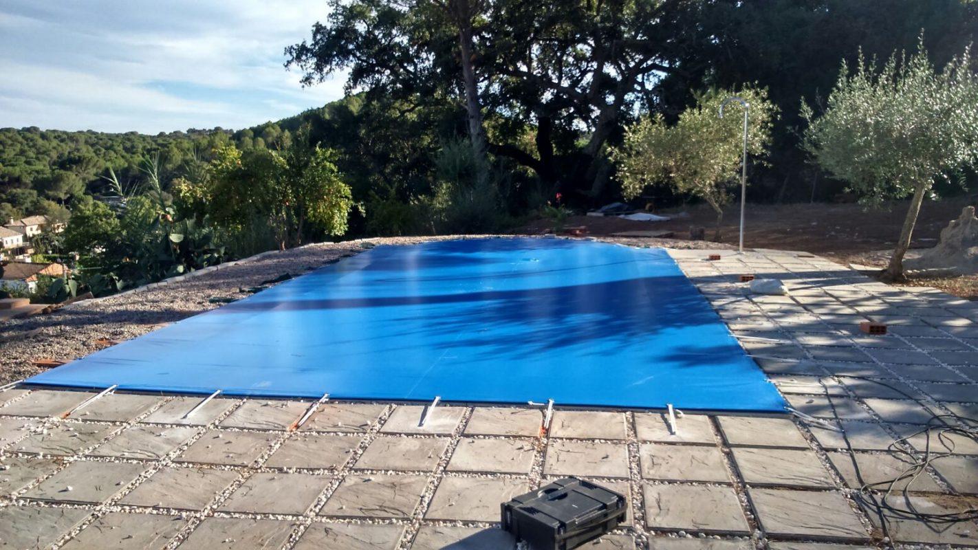 Lonas pvc y cubiertas piscina toldos saez - Cubiertas de lona para piscinas ...