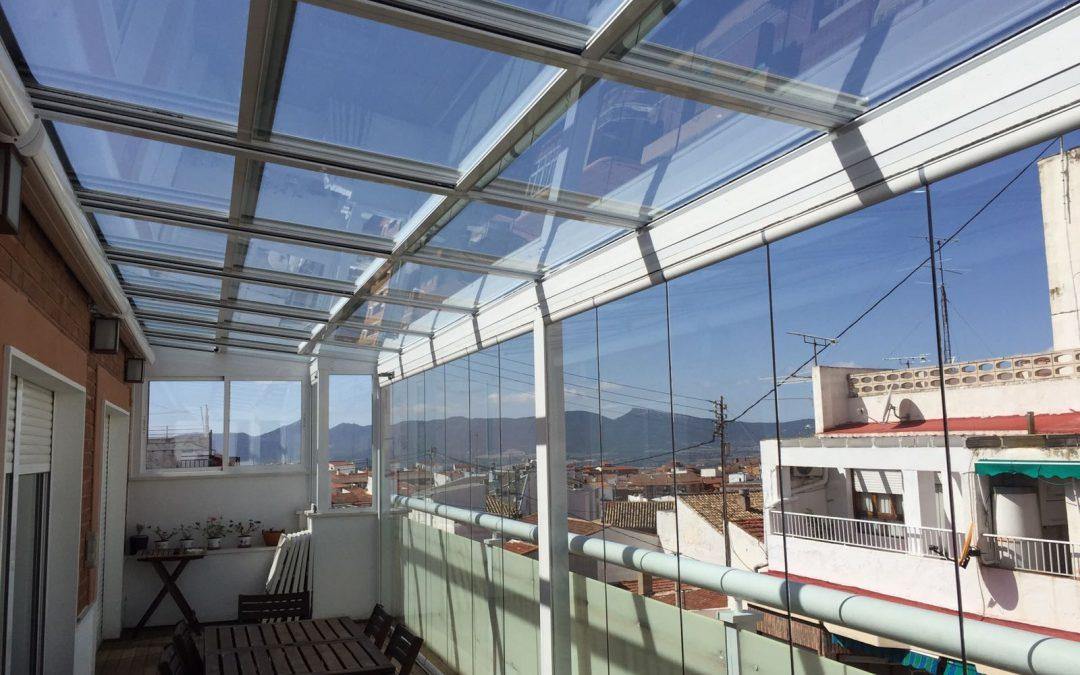 Cortina de cristal en Córdoba